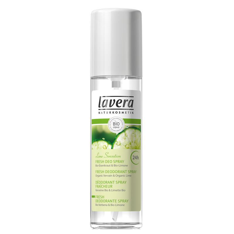 Deodorant Spray Bio Lime Sensation Lavera - 75 Ml