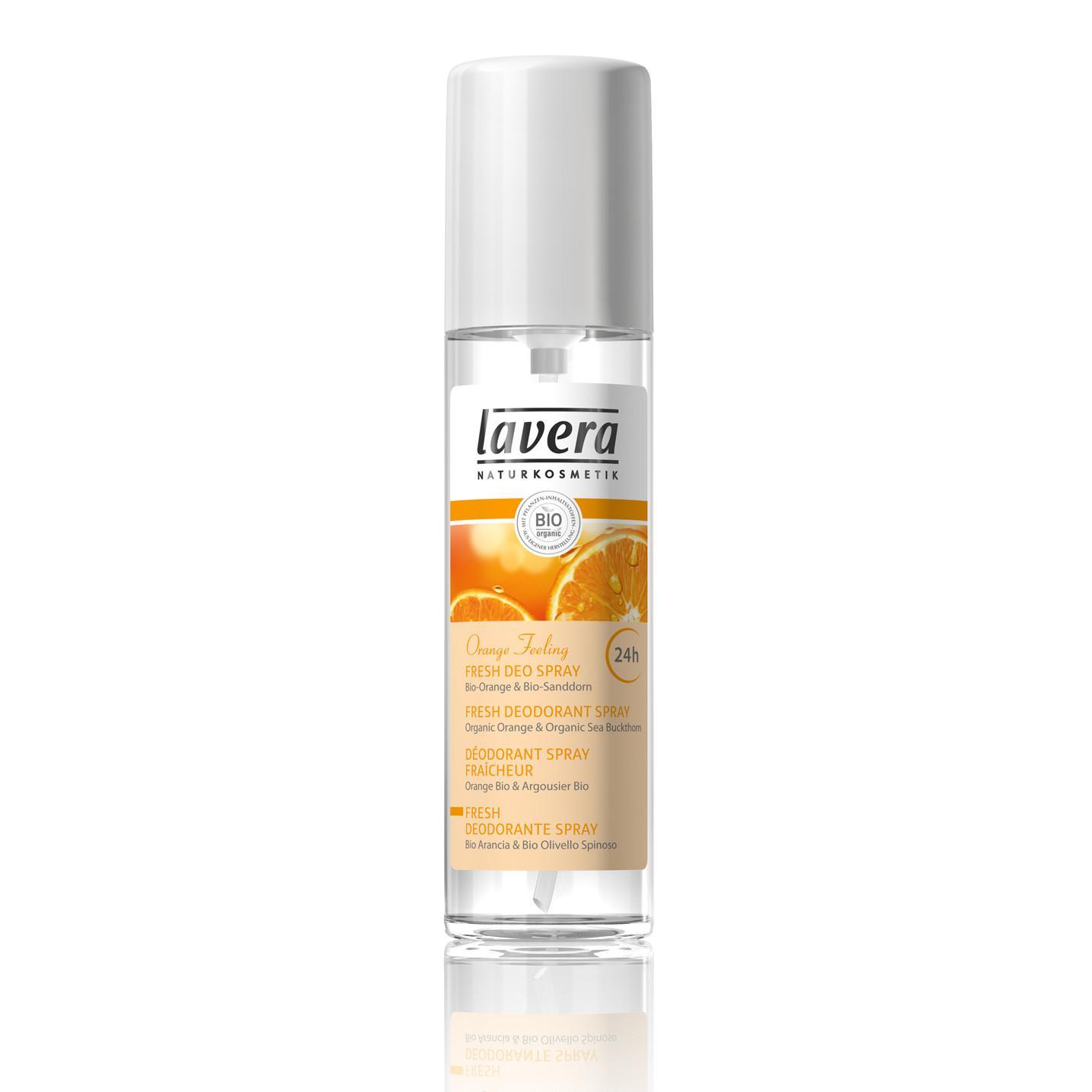 Deodorant Spray Organic Bio Orange Feeling Lavera - 75 Ml