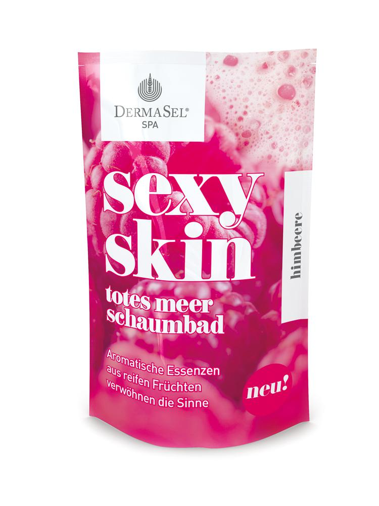 Spumant De Baie Dermasel Spa Sexy Skin Cu Aroma De Zmeura-45 Ml