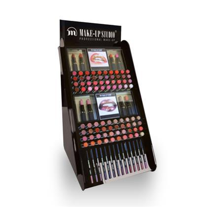 Display Profesional Buze Colorate Make-up Studio