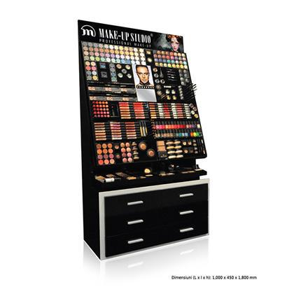 Display Profesional Expozitor cu Testere Make Up Studio