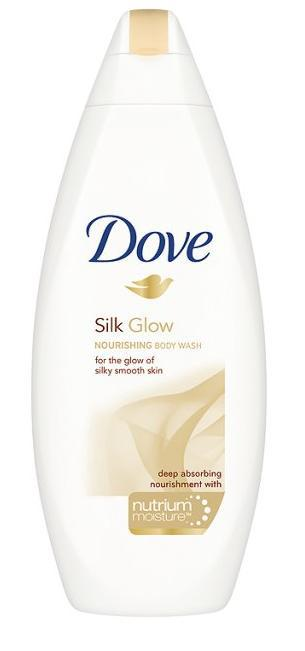 Gel De Dus Dove Silk Glow 250ml