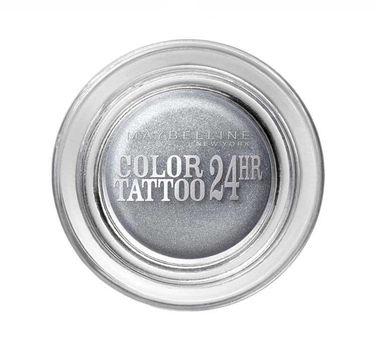 Fard De Pleoape Iluminator Maybelline Color Tattoo 24 Hr - 50 Eternal Silver