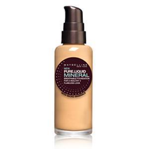 Fond de Ten Maybelline Pure Liquid Mineral - 021 Nude