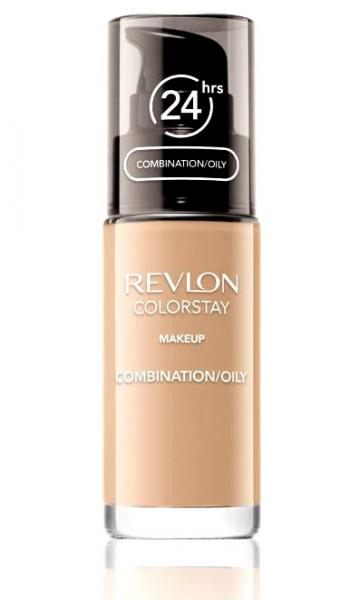 Fond De Ten Revlon Colorstay Oily Skin Cu Pompita - 340 Early Tan