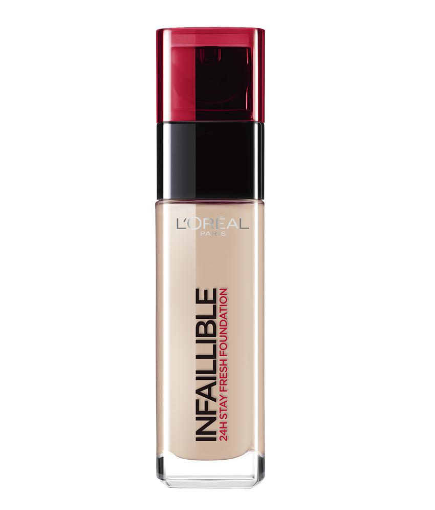 Fond De Ten L'oreal Infallible 24 Hr - 125 Natural Rose, 30 Ml