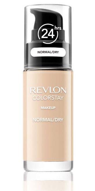 Fond De Ten Revlon Colorstay Dry Skin Cu Pompita -
