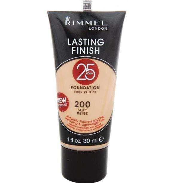 Fond De Ten Rimmel Lasting Finish 25 Hr - 200 Soft
