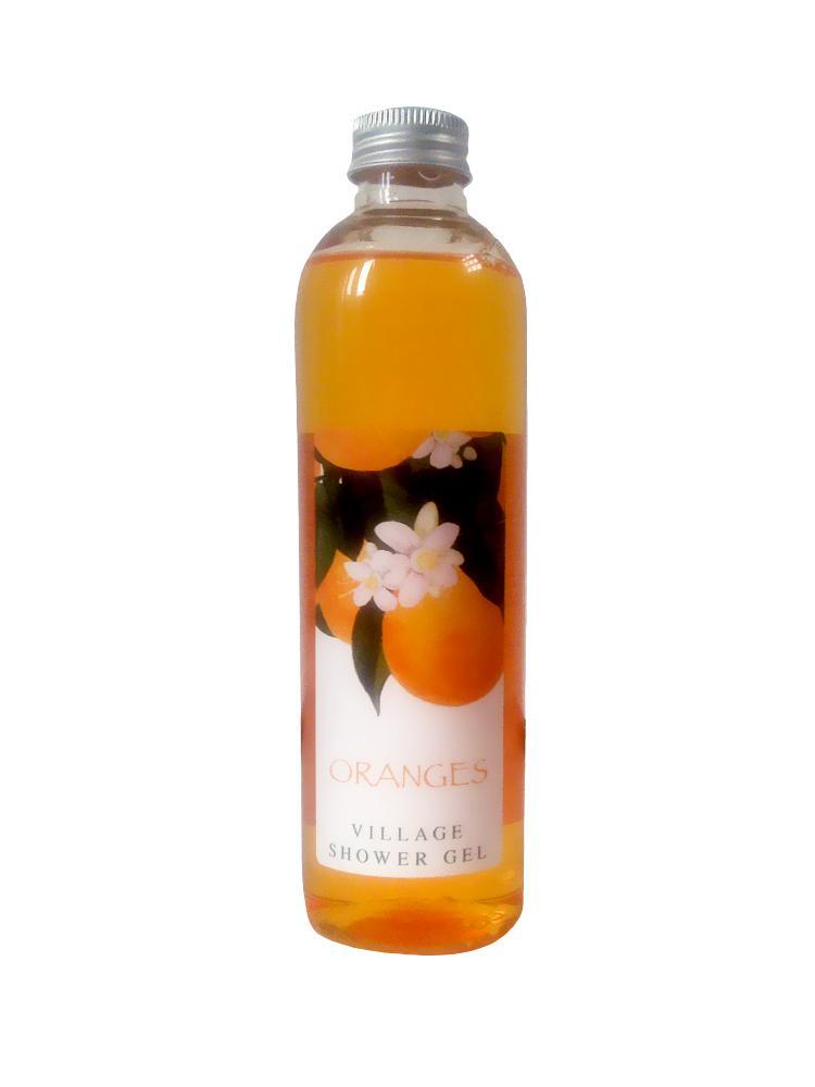 Gel De Dus Village Cosmetics Cu Extract De Portoca