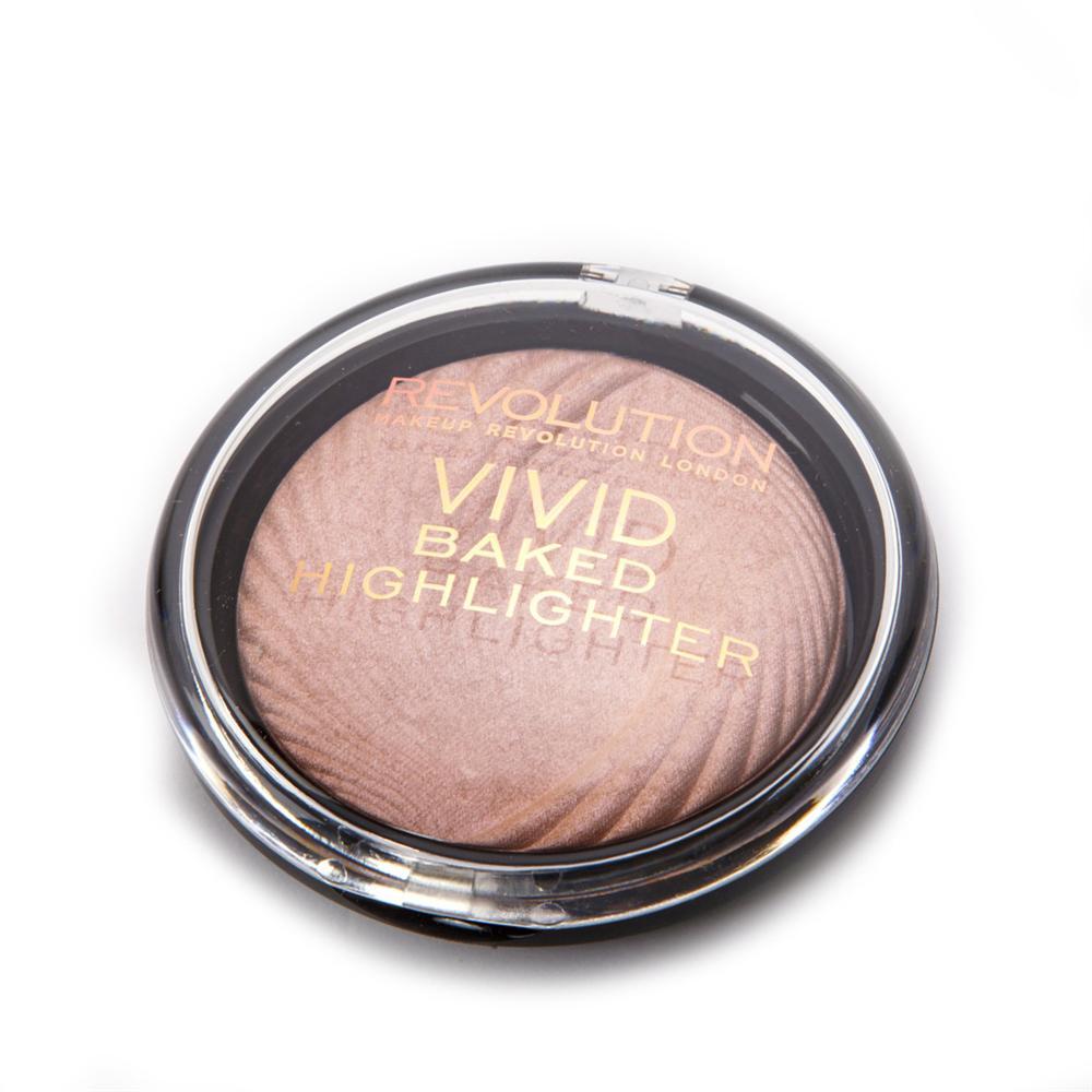 Iluminator Profesional Makeup Revolution Vivid Baked - Peach Lights
