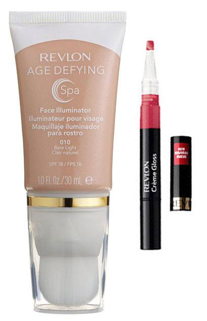 Iluminator Revlon Age Defying Spa Gold Light & Cad