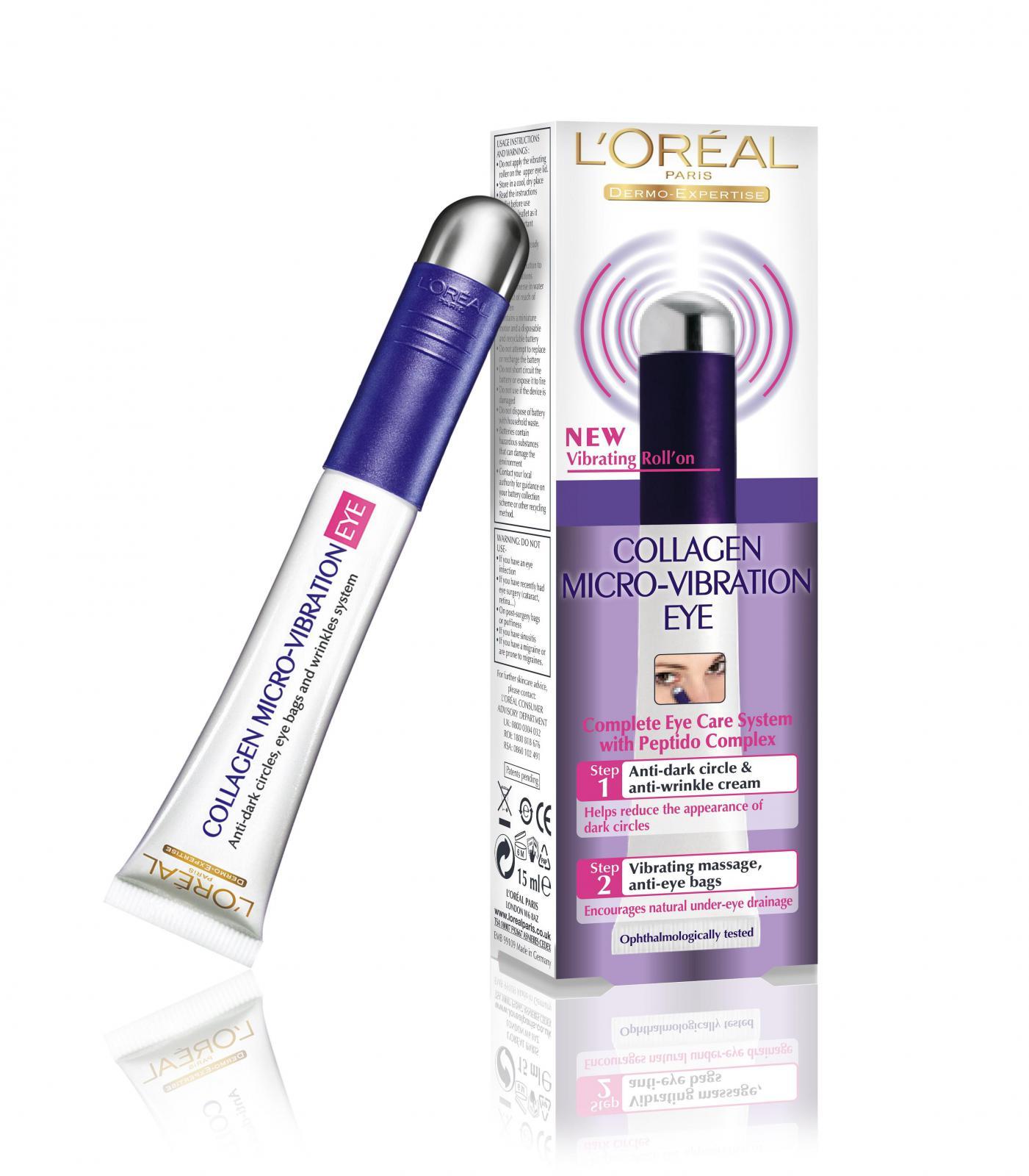 Crema De Ochi Loreal Collagen Micro-vibration Derm