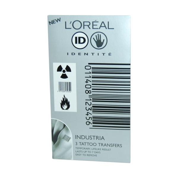 Kit 3 Tatuaje Loreal Industria Transfers