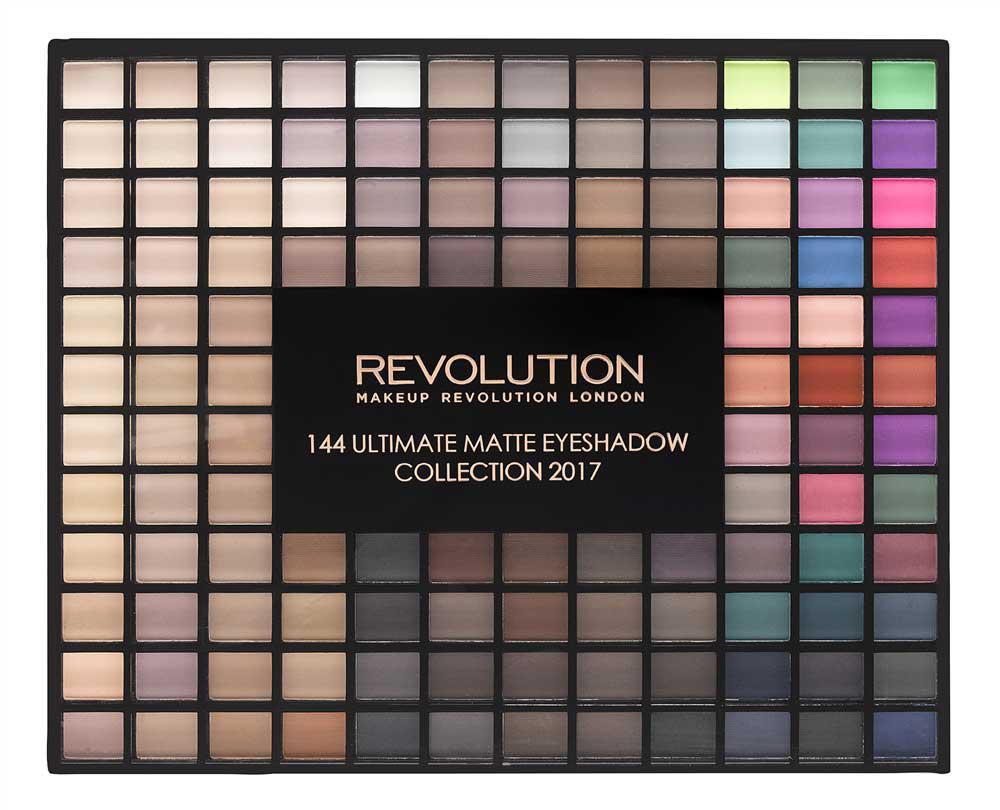 Trusa cu 144 Farduri MATE Makeup Revolution Ultimate 2017 Collection