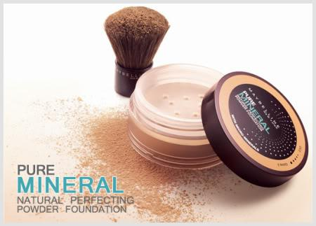Pudra Minerala Maybelline Cu Pensula Kabuki - 02 R