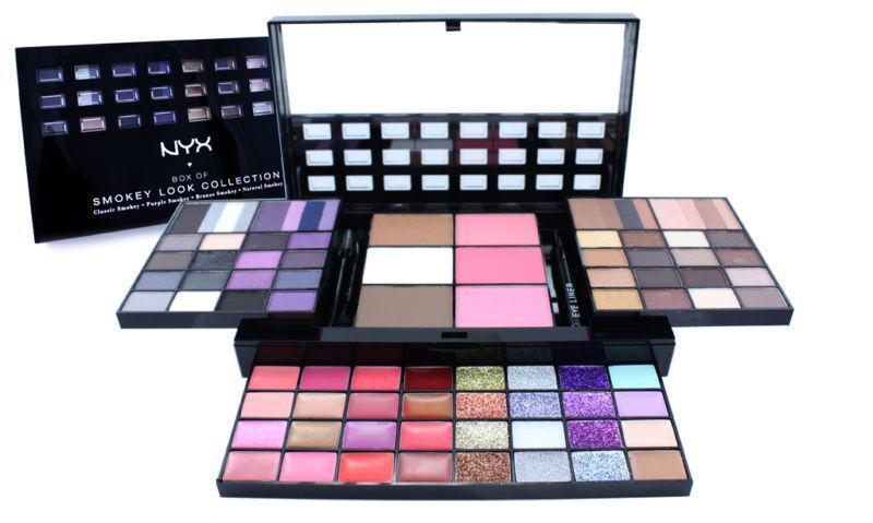 Trusa Machiaj Nyx Professional Makeup Smokey Look Collection