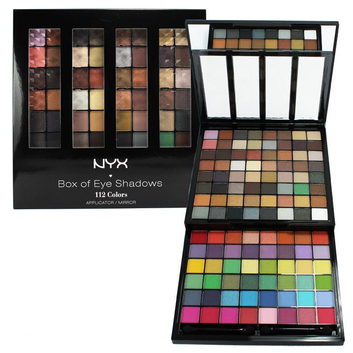 Trusa Machiaj Nyx Professional Makeup Box Of Eye Shadows