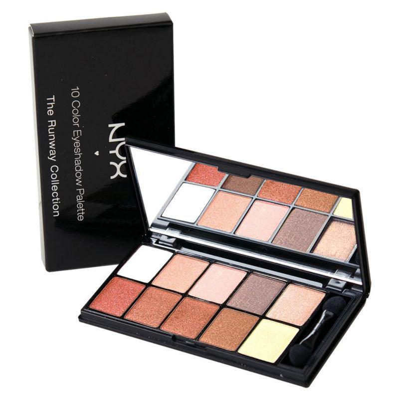 Paleta 10 Farduri Nyx Professional Makeup- Romance