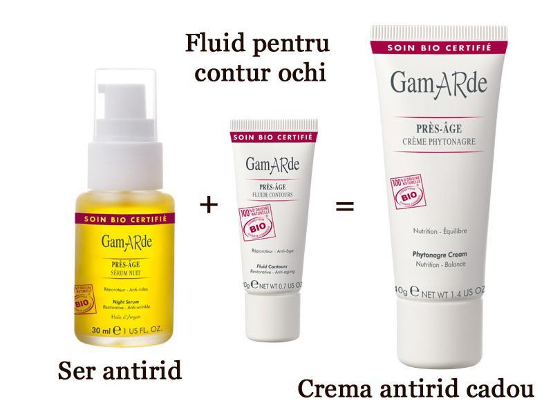 Set Bio Antirid Gamarde 2 Produse + 1 Cadou