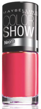 Oja Maybelline Color Show Neons - 188 Electric Pink