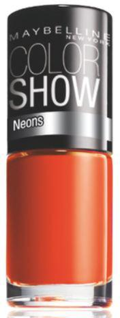 Oja Maybelline Color Show Neons - 191 Orange Fix