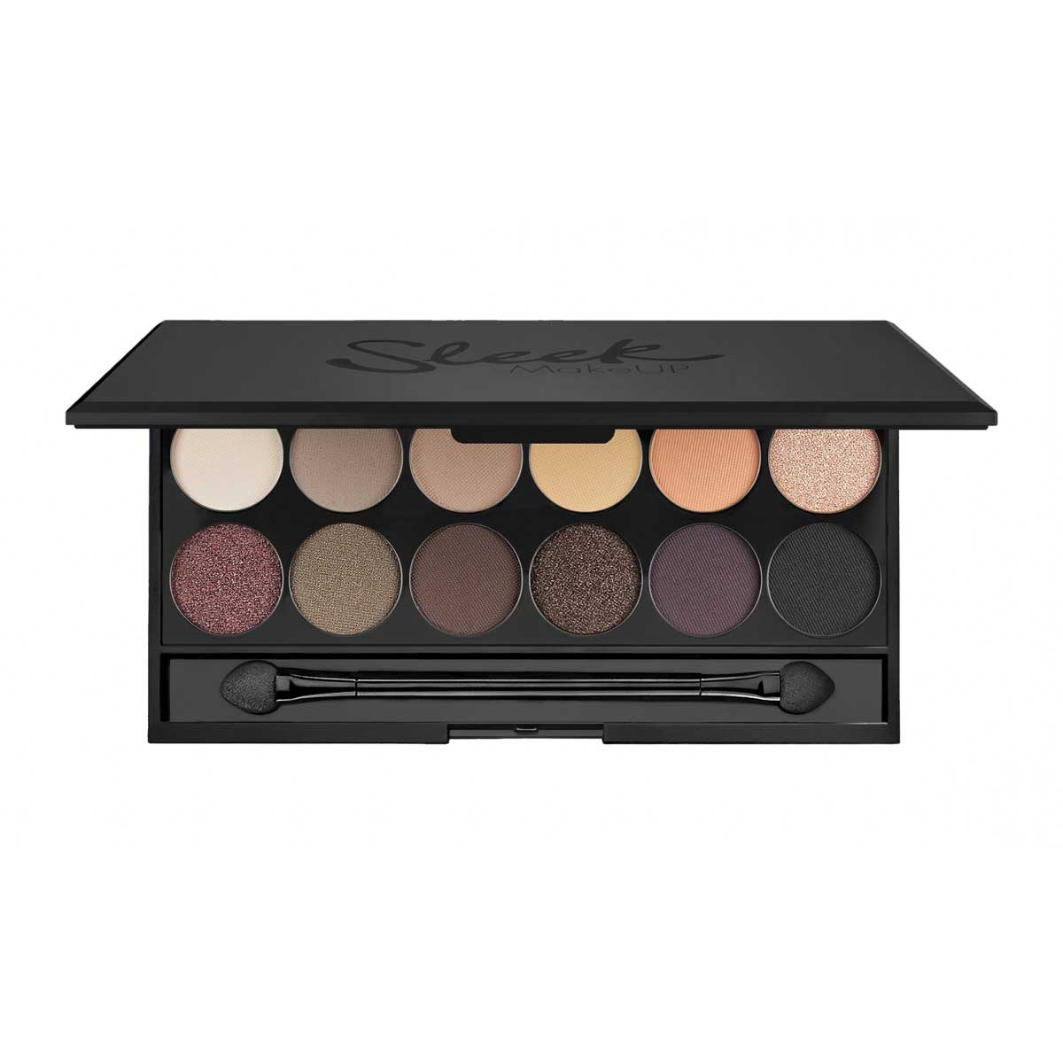 Paleta farduri SLEEK MakeUP i Divine Eyeshadow Palette Au Naturel 12x0.8 gr