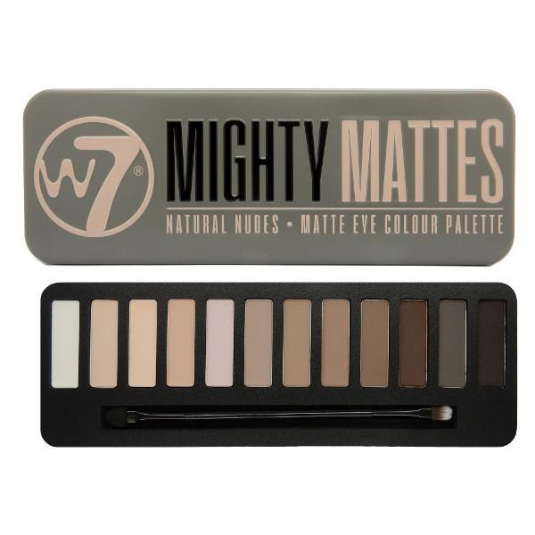 Trusa Profesionala Cu 12 Farduri W7 Mighty Mattes