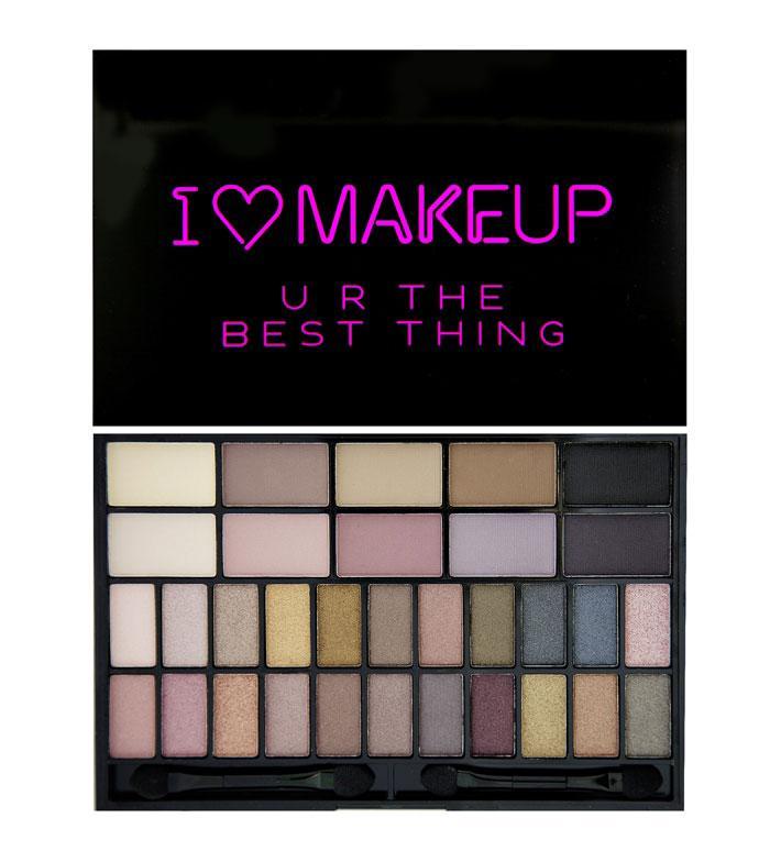 Paleta 32 Farduri Makeup Revolution I Heart Makeup Ur The Best Thing