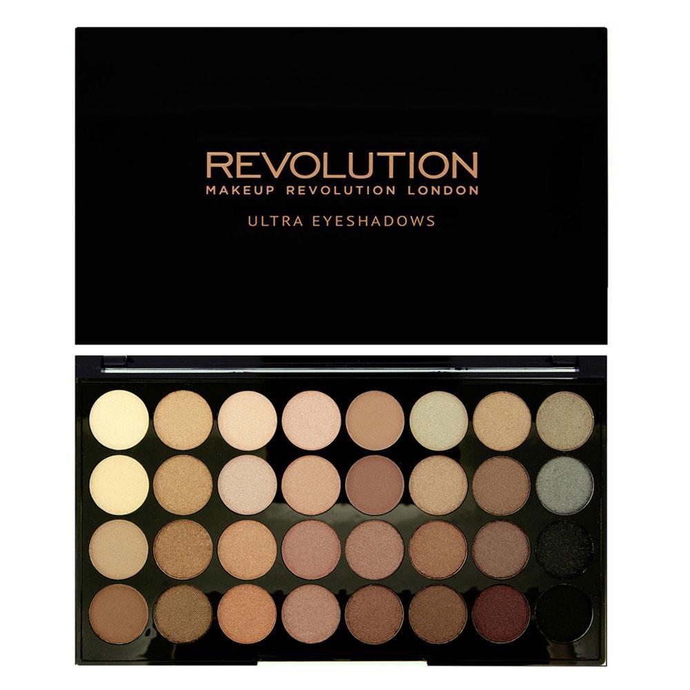 Paleta Profesionala Cu 32 Farduri Makeup Revolution Beyond Flawless