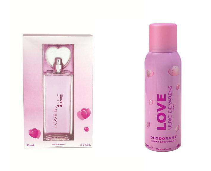 Caseta Love By Lily Prune 75 Ml Si Deodorant Cadou 125 Ml