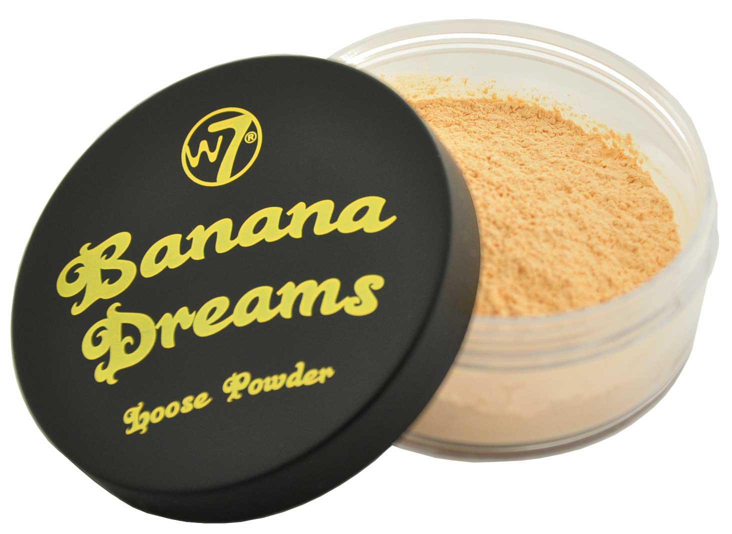 Pudra Translucida Neutralizatoare W7 Banana Dreams