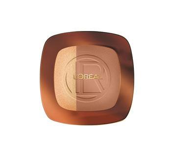 Paleta Bronzanta Iluminatoare Loreal Glam Bronze - 102 Brunette