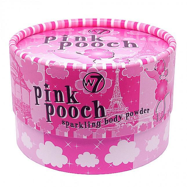 Pudra Stralucitoare Iluminatoare Pentru Corp W7 Pink Pooch Sparkling