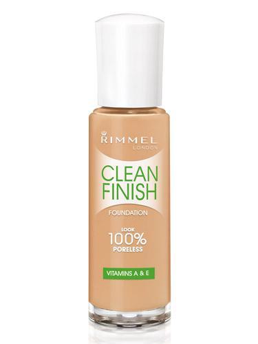 Fond De Ten Rimmel Clean Finish - 120 Ivory
