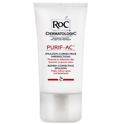RoC Purif-Ac Blemish Correcting Emulsion - 40 ml
