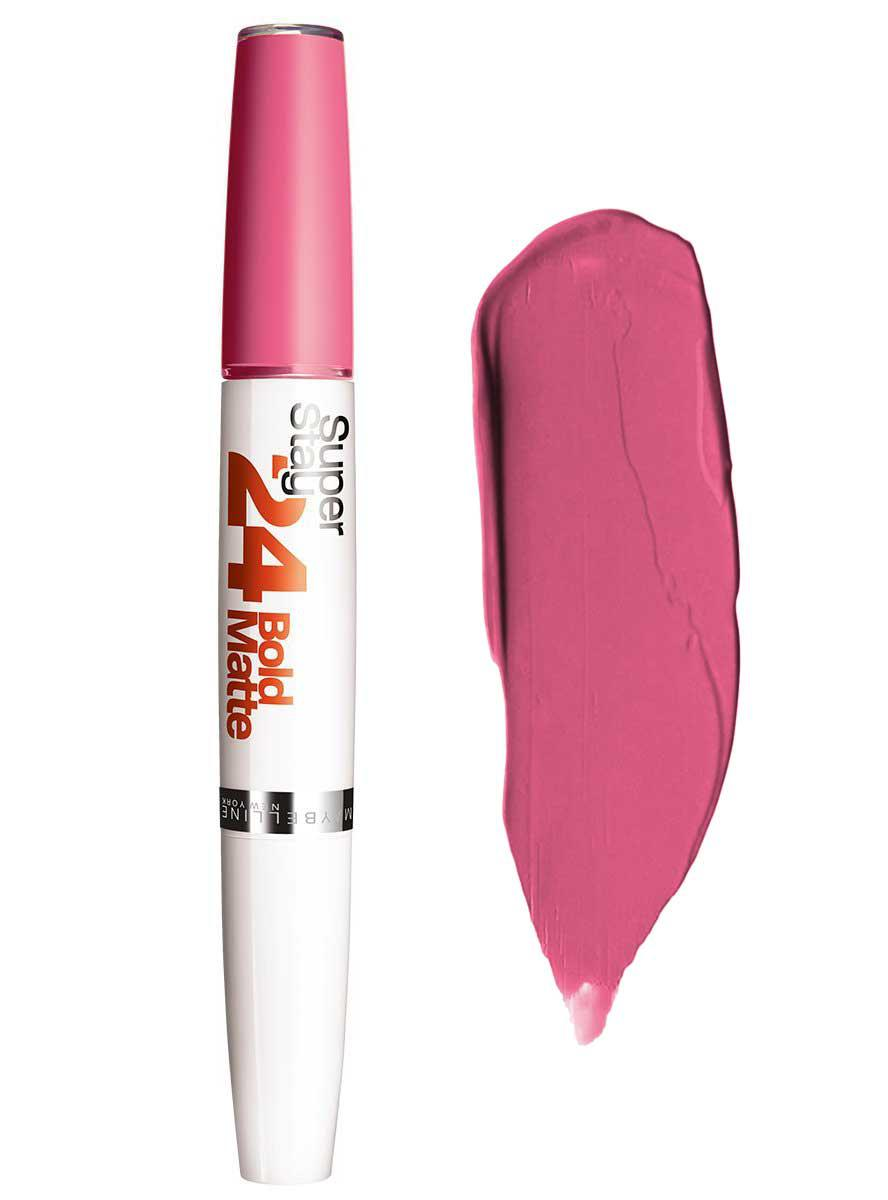 Ruj Mat Semipermanent Maybelline Superstay 24 H Bold Matte - 810 Peach Cocktail
