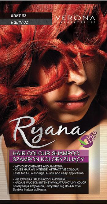 Sampon Profesional Colorant Verona Professional - 02 Ruby