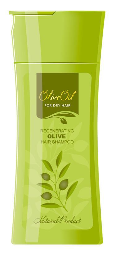 Sampon Fara Parabeni Regenerant Olive Oil - 200 Ml
