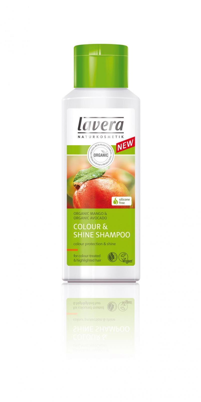 Sampon Natural Pentru Par Vopsit Lavera - 200 Ml