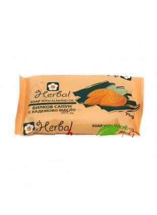 Sapun 100% Natural Herbal Cu Ulei De Migdale - 75 Ml