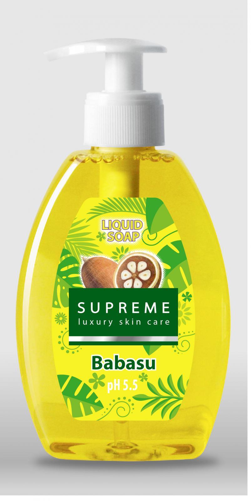 Sapun Lichid Cu Ulei De Babassu Supreme - 300 Ml