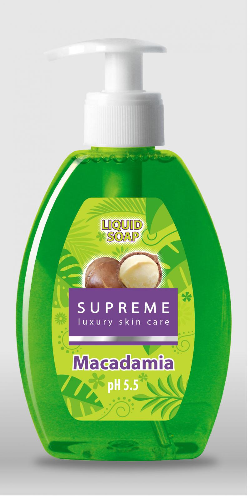 Sapun Lichid Cu Ulei De Macadamia Supreme - 300 Ml
