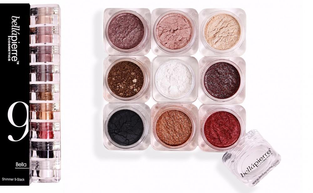Set 9 Pigmenti Minerali Universali Bellapierre - B