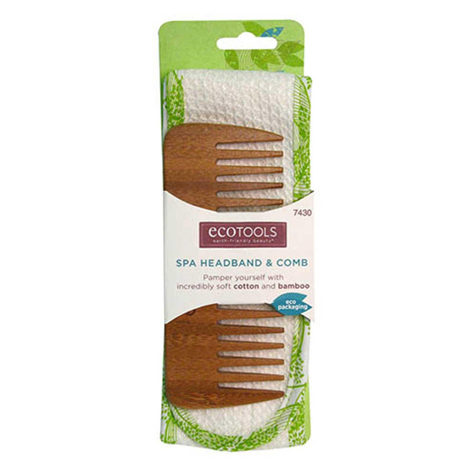 Set Pieptene Bambus Si Bentita Ecotools Spa Headband & Comb