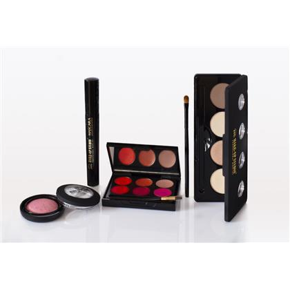 Set Profesional Glamourous Evening Make Up Studio