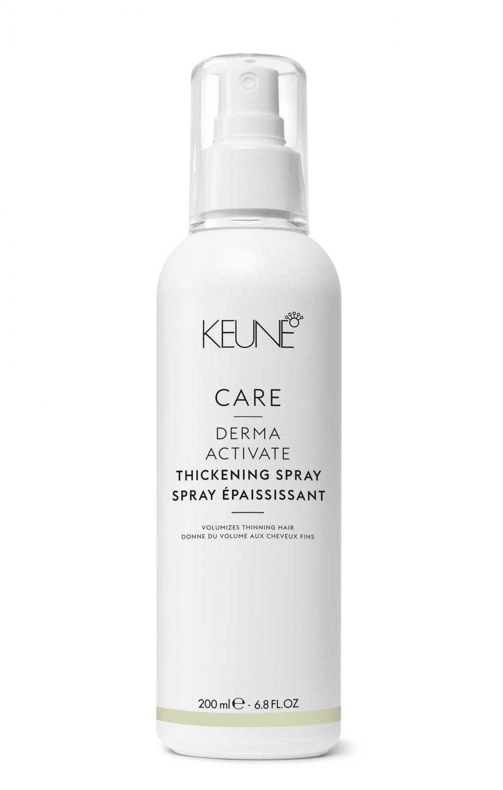 Spray Leave-In Pt Par Fin Keune Derma Activate Thickening-200 ml