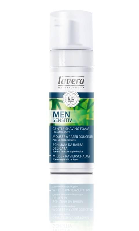 Spuma De Ras Bio Cu Aloe Vera Men Sensitiv Lavera - 150 Ml