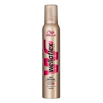 Spuma De Par Wellaflex Heat Ultra Strong - 200 Ml