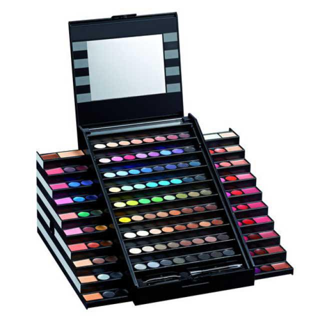 Trusa Profesionala de Machiaj cu 130 culori MEIS Make Up PREMIUM